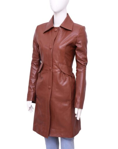 Doctor Who Leather Coat