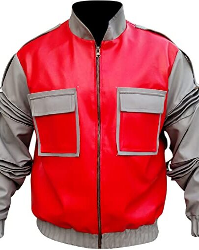 Back To The Future 2 Marty Mcfly Leather Jacket
