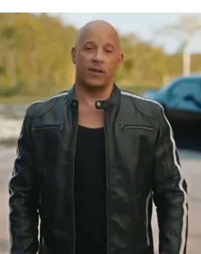 F9 Dominic Toretto Cafe Racer Leather Jacket