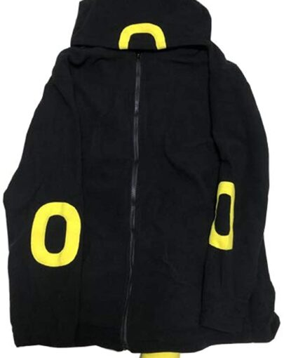 Pokemon Go Umbreon hoodie is one of the coolest hoodies you will anytime find to wear and This hoodie is made of extraordinary compared to other cotton surface with no covering dim in concealing hood comes associated and front zip resolution is a flat out need add on in style.