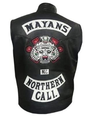 ANGEL REYES MAYANS M.C VEST Southern and Northern Cali