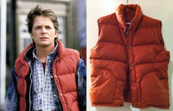 Marty McFly Puffer Vest